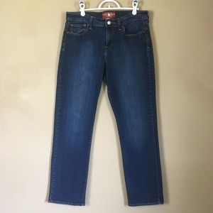 Lucky Brand Jeans 14/32 Ankle Sofia Straight Fit